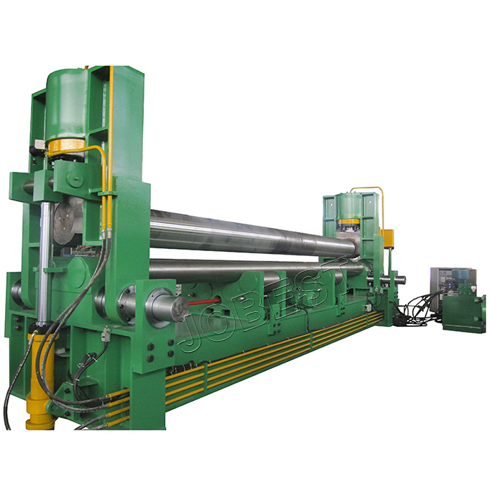 Three Roller Plate Bending Machine